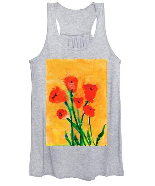Poppies Women's Tank Top