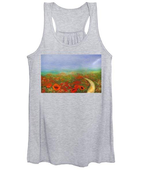 Poppy Field Impressions Women's Tank Top