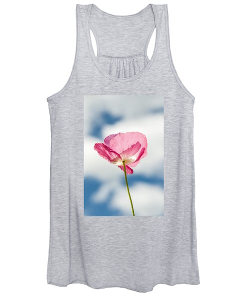 Poppy In The Clouds Women's Tank Top