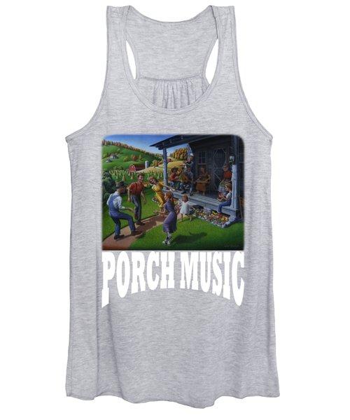 Porch Music T Shirt 2 Women's Tank Top