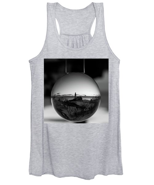 Portland Headlight Globe Women's Tank Top