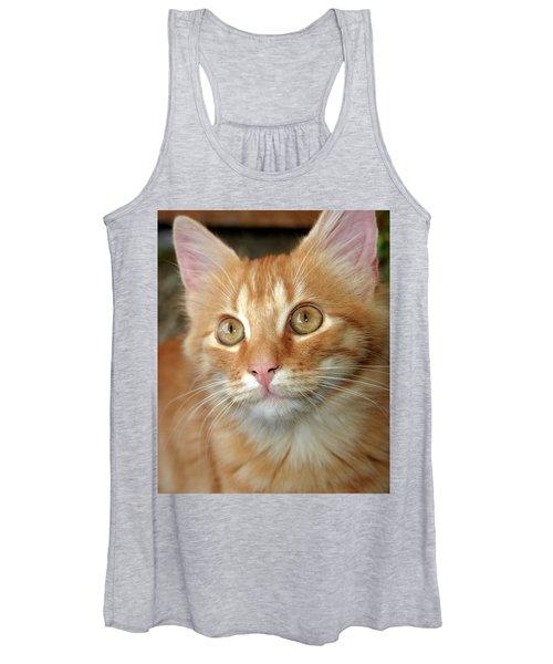 Portrait Of A Cat Women's Tank Top