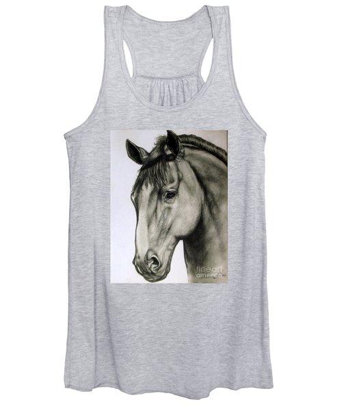 Portrait Of A Horse Women's Tank Top
