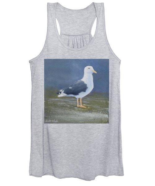 Portrait Of A Seagull Women's Tank Top