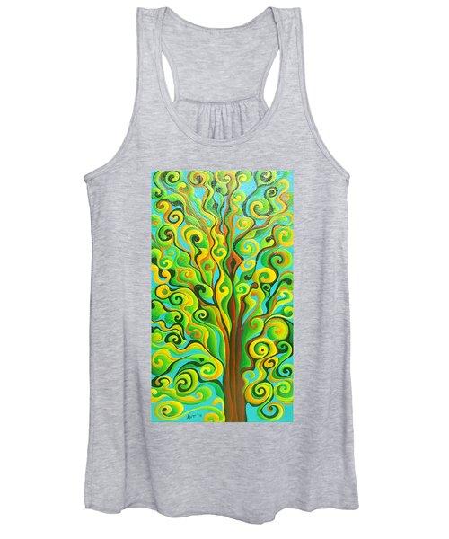 Positronic Spirit Tree Women's Tank Top