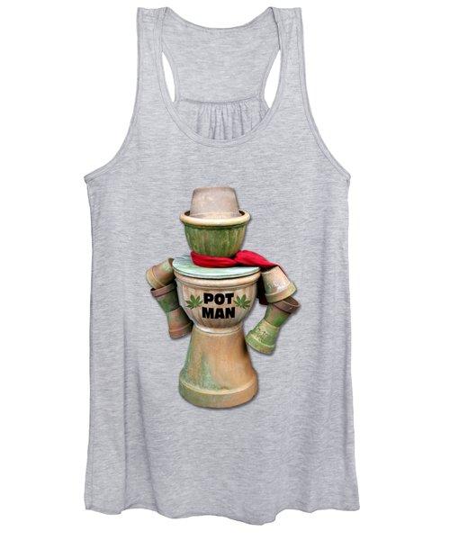 Pot Man T-shirt Women's Tank Top