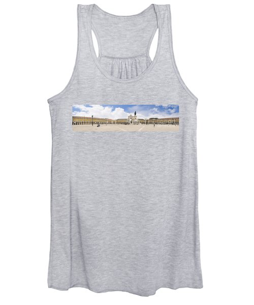 Praca Do Comercio, The Square Of Commerce Women's Tank Top