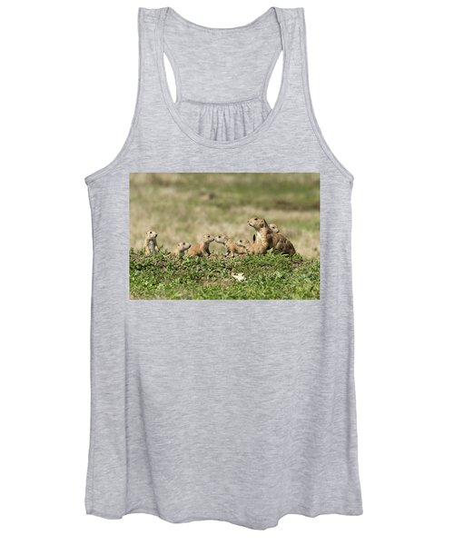 Prairie Dog Family 7270 Women's Tank Top