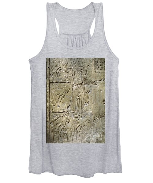 Private Tombs -painting West Wall Tomb Of Ramose T55 - Stock Image - Fine Art Print - Thebes Women's Tank Top