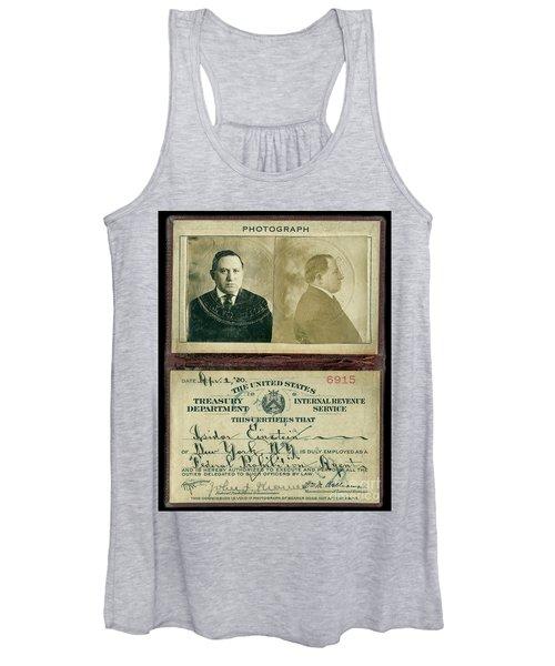 Prohibition Agent Id Women's Tank Top