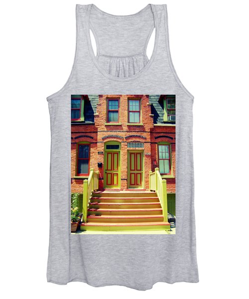 Pullman National Monument Row House Women's Tank Top