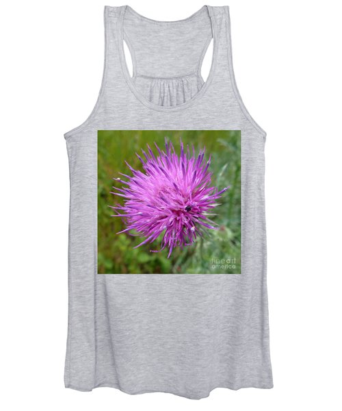Purple Dandelions 2 Women's Tank Top