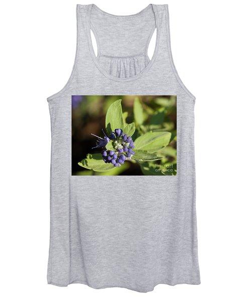 Purple Flowers Women's Tank Top