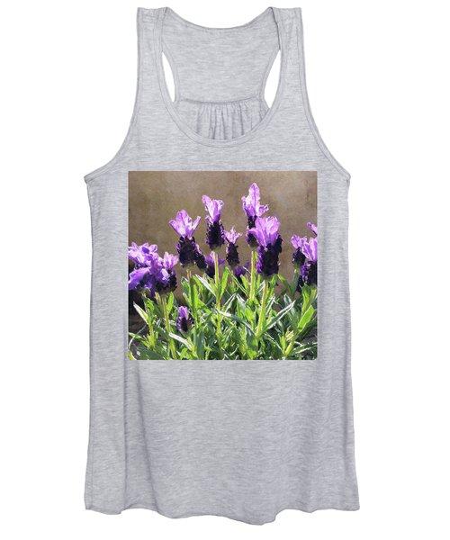 Purple Women's Tank Top