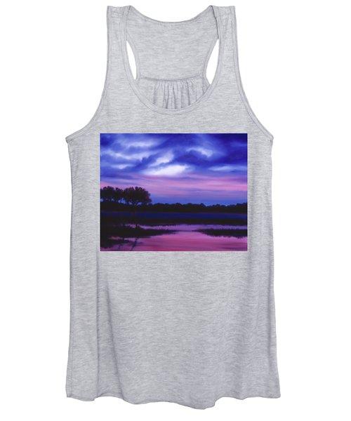 Purple Landscape Or Jean's Clearing Women's Tank Top