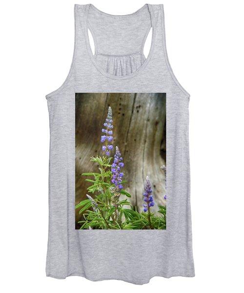 Purple Lupine Women's Tank Top
