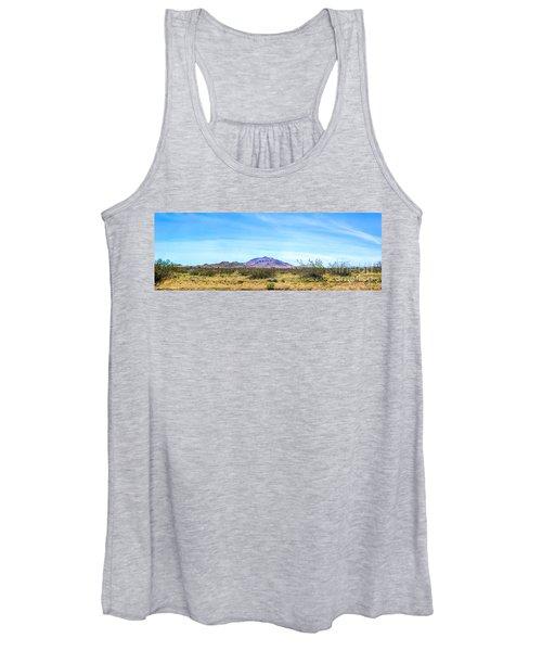 Purple Mountain Panoramic Women's Tank Top
