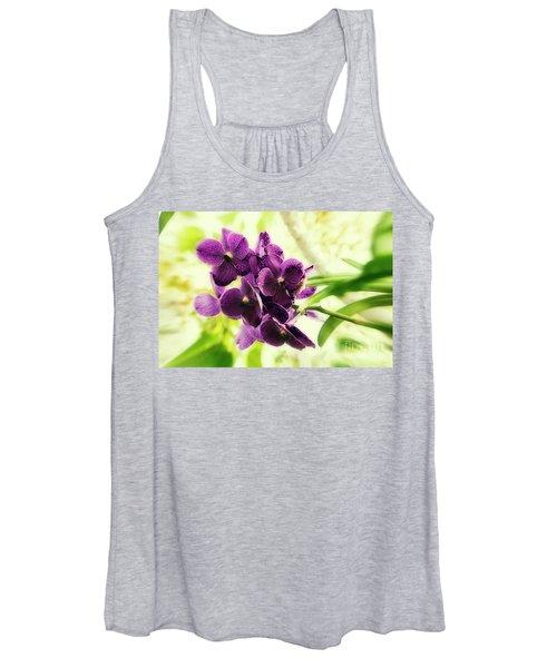 Purple Orchid Women's Tank Top