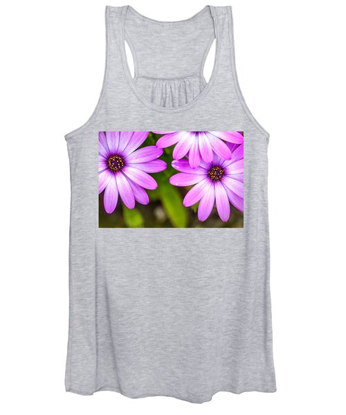 Purple Petals Women's Tank Top