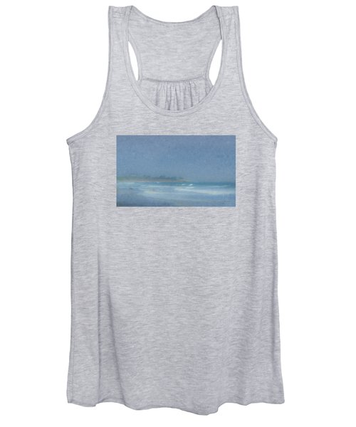 Foggy Afternoon At Little Compton Ri Women's Tank Top