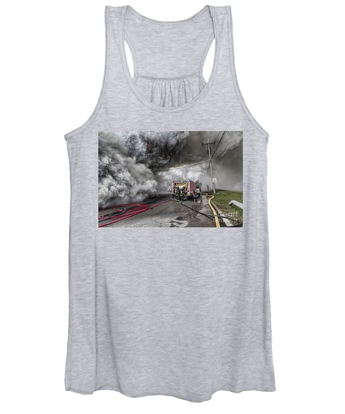 Raging Inferno Women's Tank Top