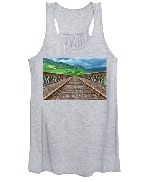 Railway Women's Tank Top