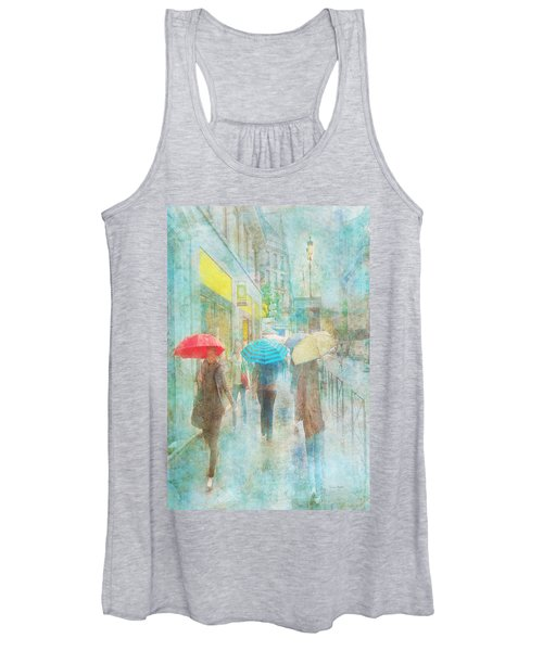 Rainy In Paris 5 Women's Tank Top