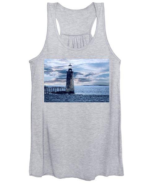 Ram Island Head Lighthouse.jpg Women's Tank Top