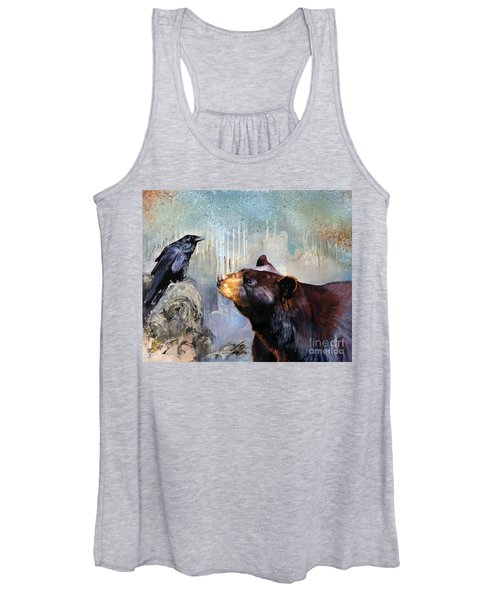 Raven And The Bear Women's Tank Top