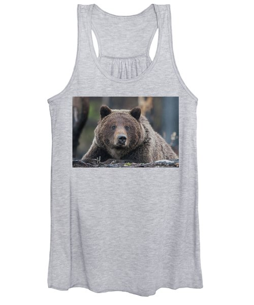 Raw, Rugged And Wild- Grizzly Women's Tank Top