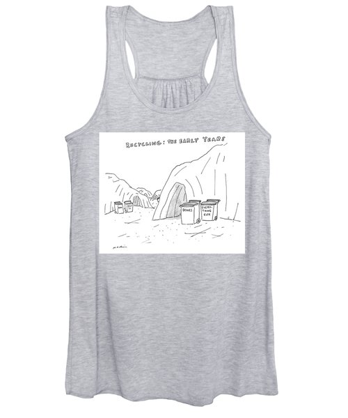 Recycling The Early Years Women's Tank Top