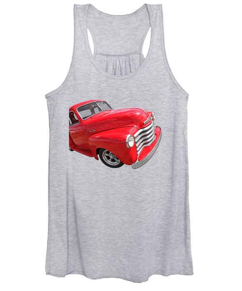 Red Chevy Pickup Women's Tank Top