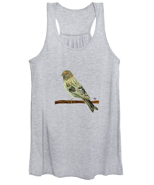 Red-fronted Serin Women's Tank Top