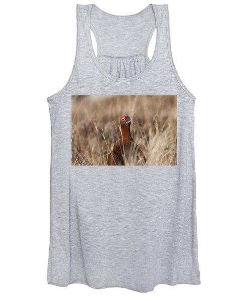 Red Grouse Calling Women's Tank Top