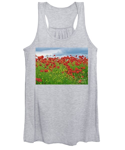 Red Poppies Women's Tank Top