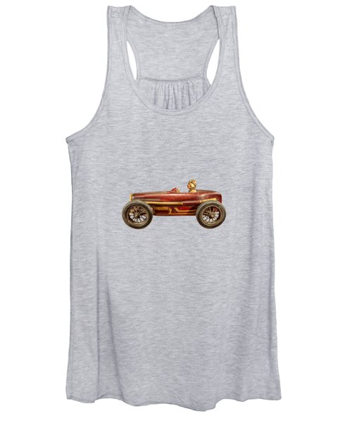 Red Racer Left Women's Tank Top