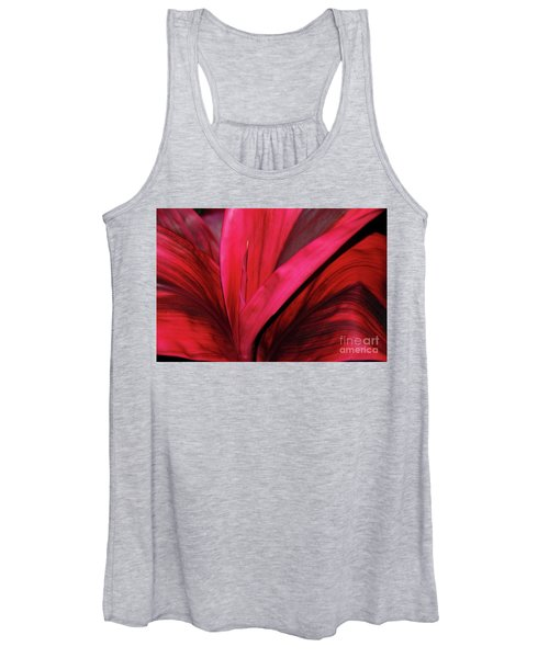 Red Ti Leaf Plant - Hawaii Women's Tank Top