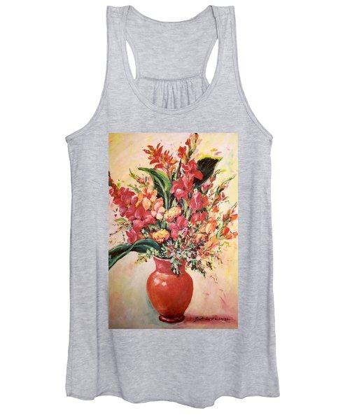 Red Vase Women's Tank Top