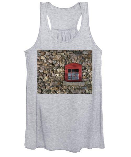 Red Window Women's Tank Top
