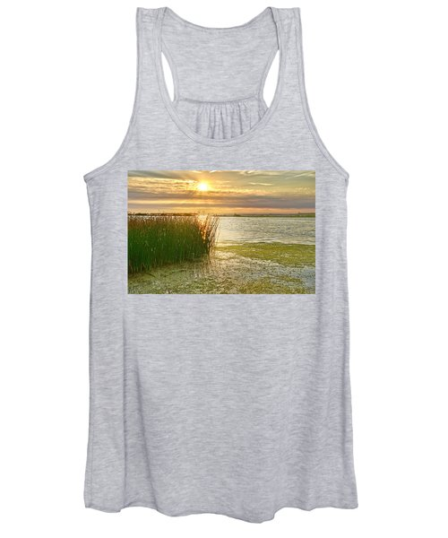 Reeds In The Sunset Women's Tank Top