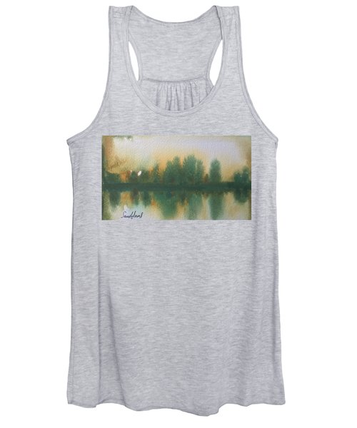 Reflecting Stourhead  Women's Tank Top