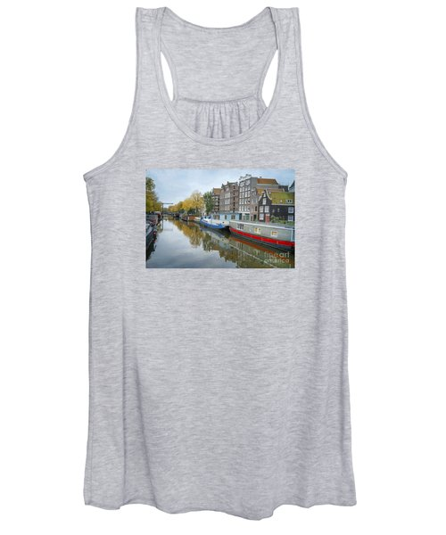 Reflections Of Amsterdam Women's Tank Top