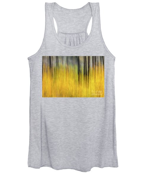 Renewal Abstract Art By Kaylyn Franks Women's Tank Top