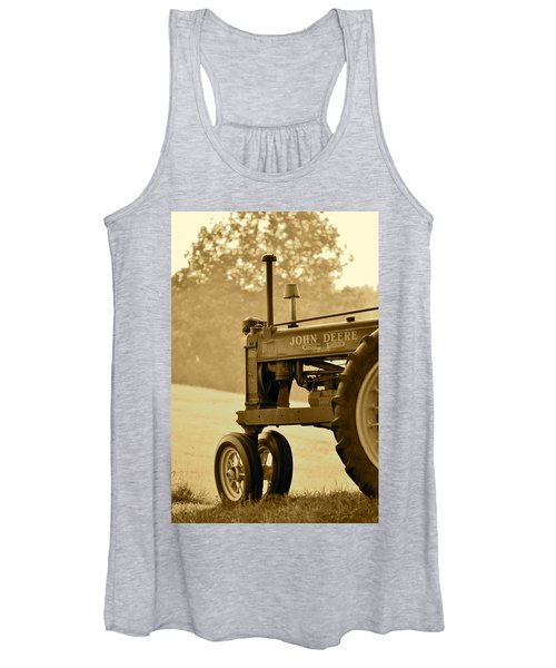 Resting In Sepia Women's Tank Top