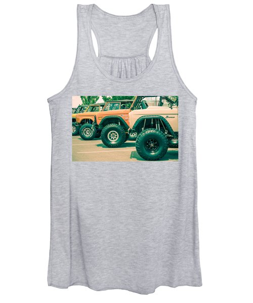 Retro Bronco Heaven Women's Tank Top