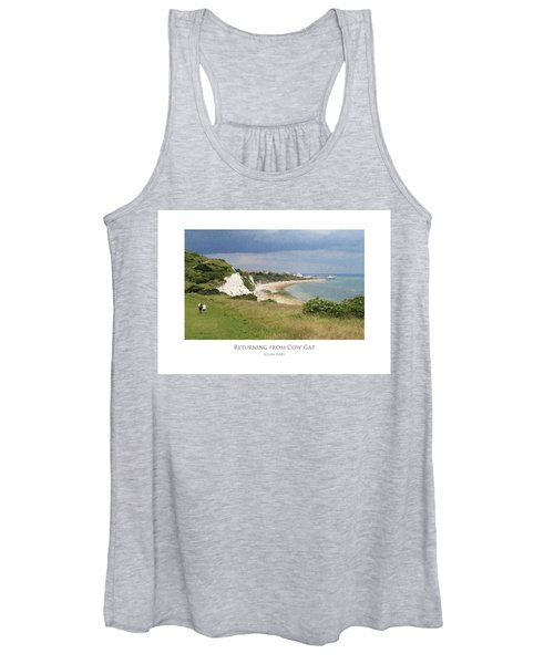 Returning From Cow Gap Women's Tank Top
