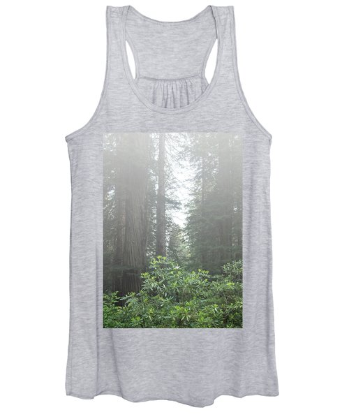 Rhododendrons In The Fog Women's Tank Top