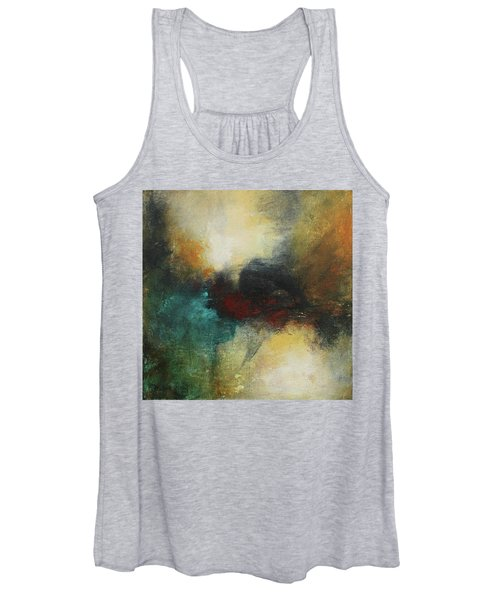 Rich Tones Abstract Painting Women's Tank Top