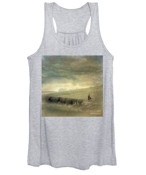 Rider In The Storm Women's Tank Top
