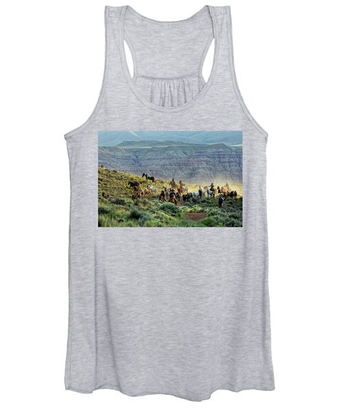 Riding Out Of The Sunrise Women's Tank Top